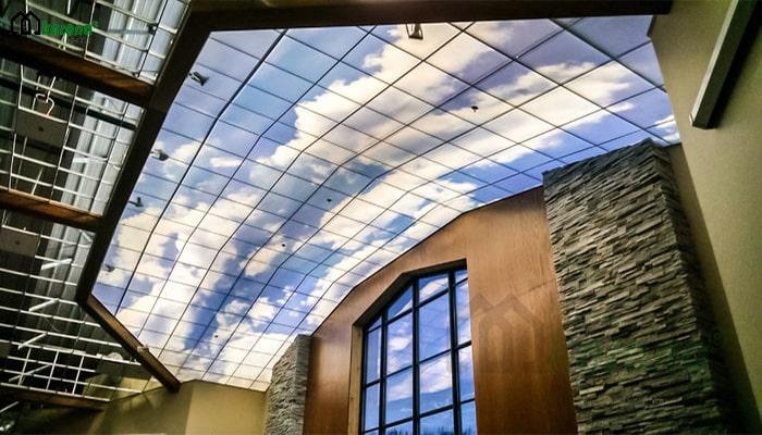 virtual sky tile