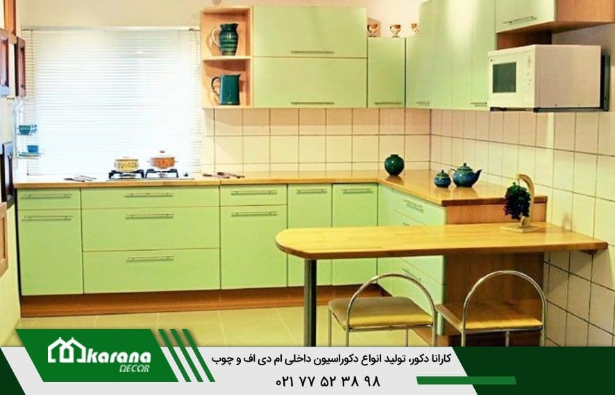 Small kitchen MDF cabinets